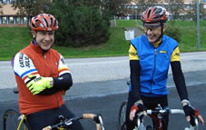 bra träningsformer ger glada cyklister