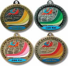 brevet medaljer