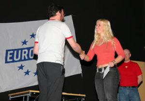 Anette från hck vann resan för två till Eurosport!!
