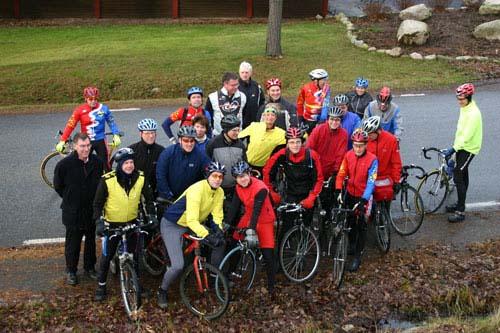 gruppfoto tidningen cykla
