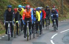 cykla i grupp grupptempo